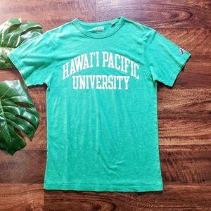 HPU Hawaii Pacific University Vintage Like Tee